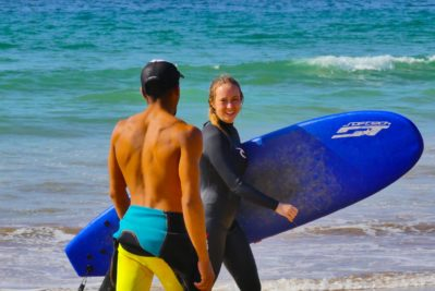 surf lessons beginner in Morocco