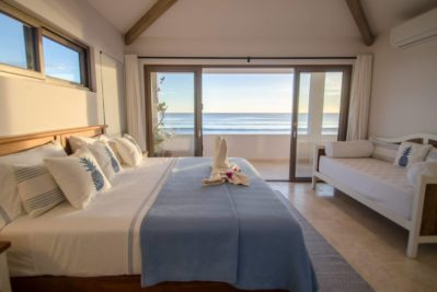 luxury bedroom ocean view